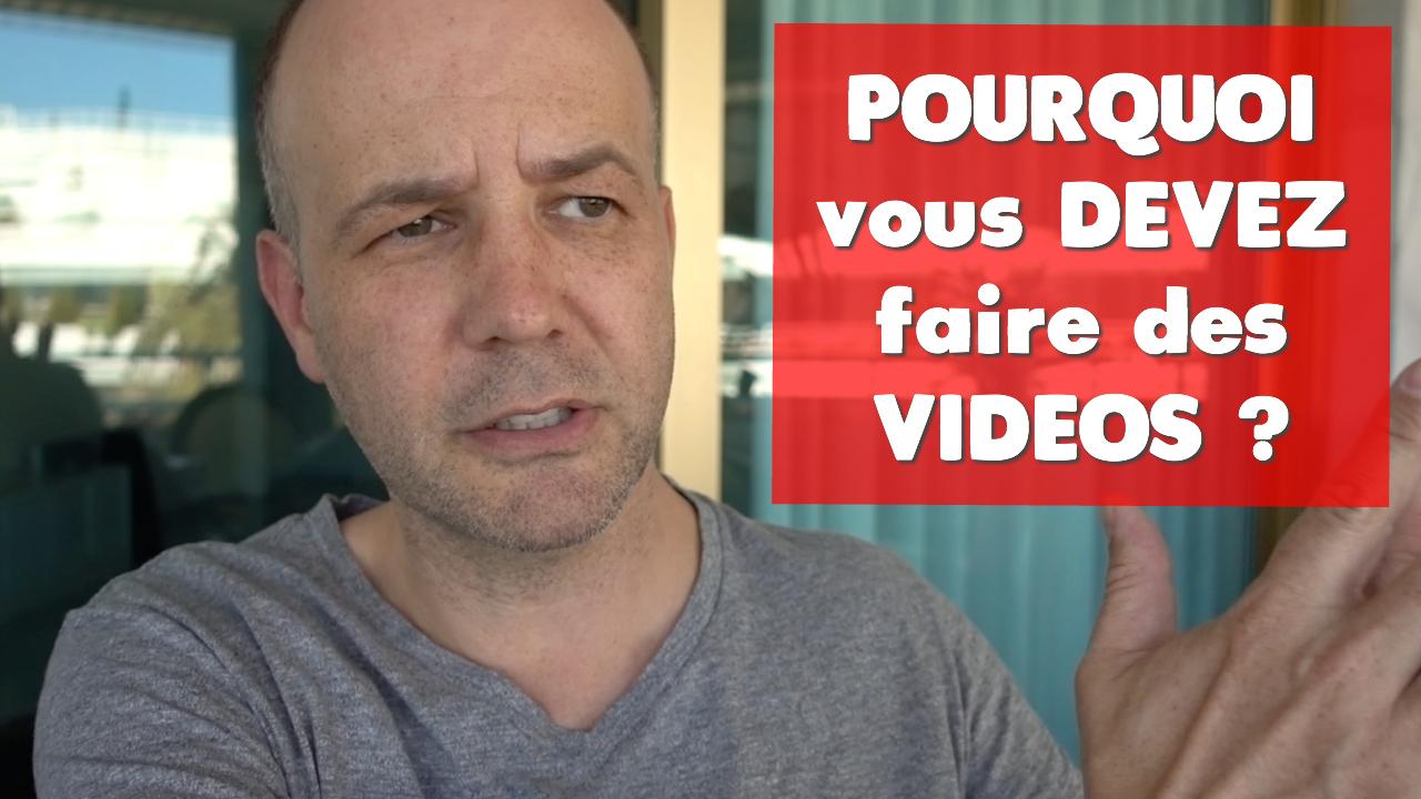 David Komsi - Pourquoi vous devez faire des vidéos