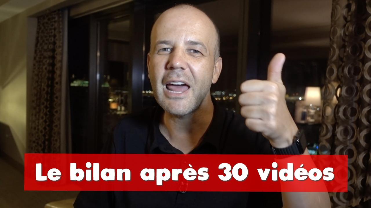COACHING David KOMSI : Le bilan après 30 vidéos